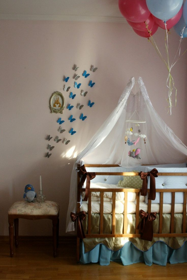 Disney nursery, crib, by lera @rosesonthestone