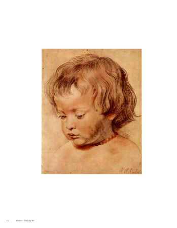 Peter Paul Rubens - Head of a Boy Umělecké plakáty na AllPosters.cz.