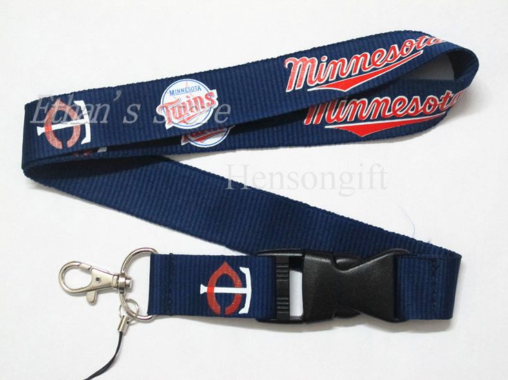 ONE PC Fans  Minesota Twins Key Lanyard ID Badge Holders mobile neck Straps