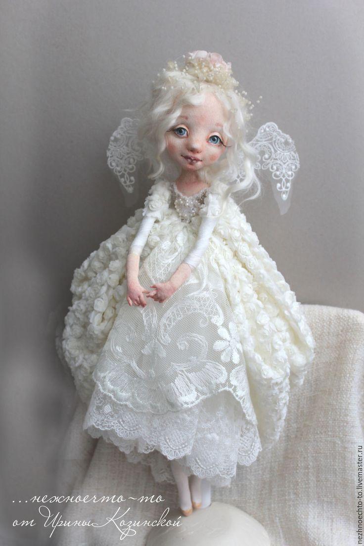 Купить Ангел - ангел, ангелочек, Нежное, ангел рождества, кукла ручной работы, кукла ангел