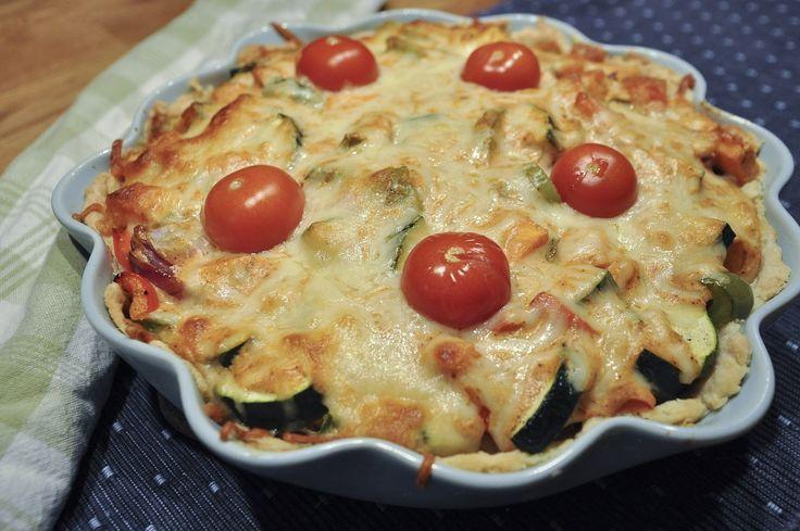 Vegetarisk tacopaj med grönsaker