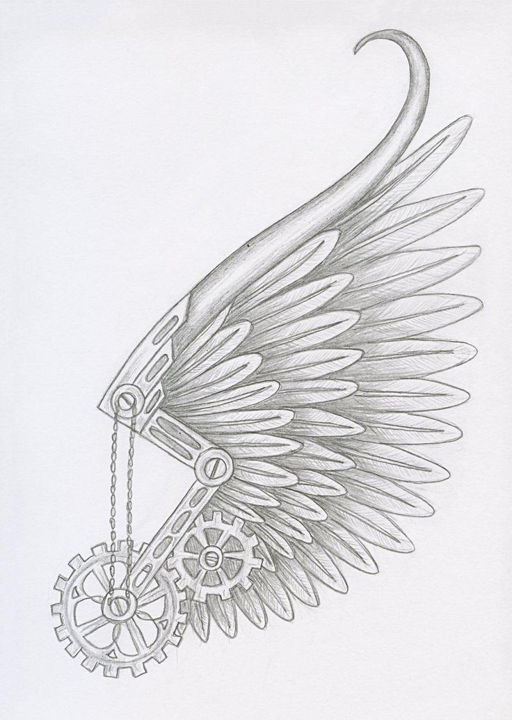 Steampunk Icarus by PixiRivets.deviantart.com on @DeviantArt