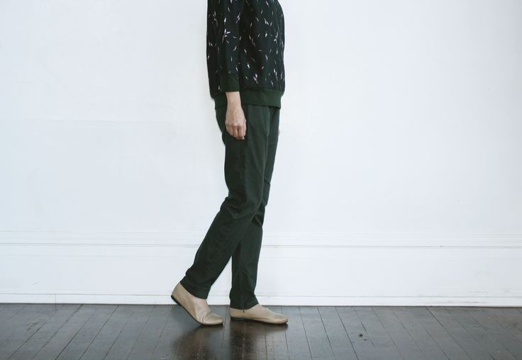 Lavandula Embroider Top with Anise Pants