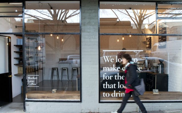 """Market Lane Coffee, 109-111 Therry Street, Melbourne, VIC 3000, Australia - """"We love to make coffee for the city that loves to drink it."""""""