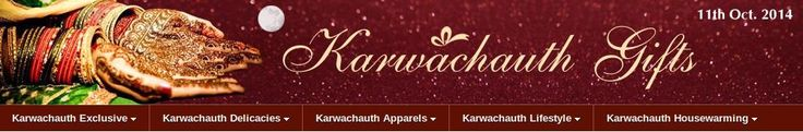 Karwachauth is a traditional hindu festival. celebrate this karwachauth with indian gifts portal, and buy karwachauth special gifts like sweetmeats, dry fruit packs, jewellery, thalis, apparel, hampers and fusion packs – all customized to suit your taste, style and your pocket as well. view more at http://karwachauth.indiangiftsportal.com/