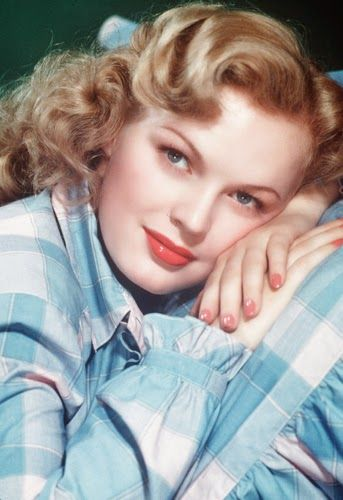 Vintage Glamour Girls: June Haver. Left film to be a nun, but instead became Mrs. Fred MacMurray. http://www.imdb.com/name/nm0369792/bio