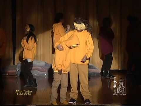 Monticello Middle School: The Lion King Jr. - April 23, 2015 - YouTube