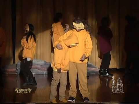 Monticello Middle School: The Lion King Jr. - April 23, 2015