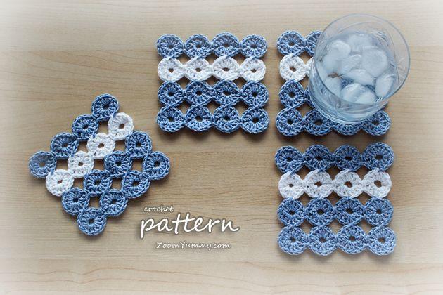 Crochet Patterns Coasters : crochet coasters pattern Crochet Pinterest