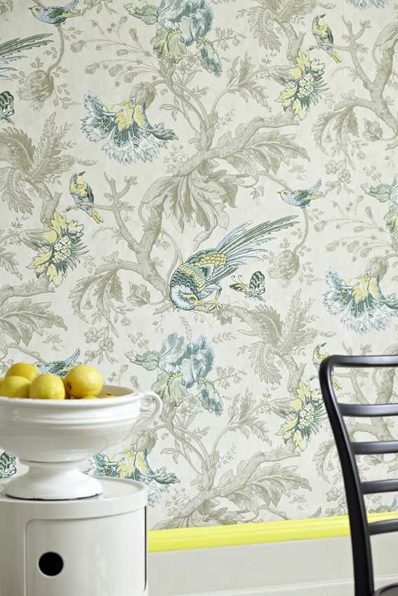 Engelska Tapetmagasinet - Little Greene Crowe Hall Lane