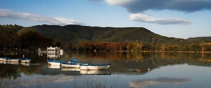 El Lago de Banyoles es el más grande de España.