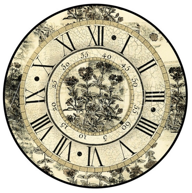 Chic Clock Face