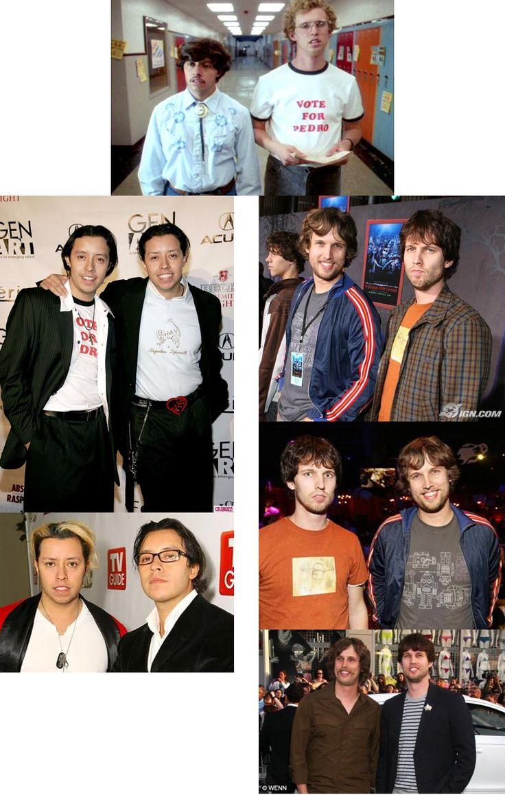 John Heder & Efren Ramirez (Napolean & Pedro from Napolean Dynamite movie) both have twin brothers....Whaaaaaaaaat?!!