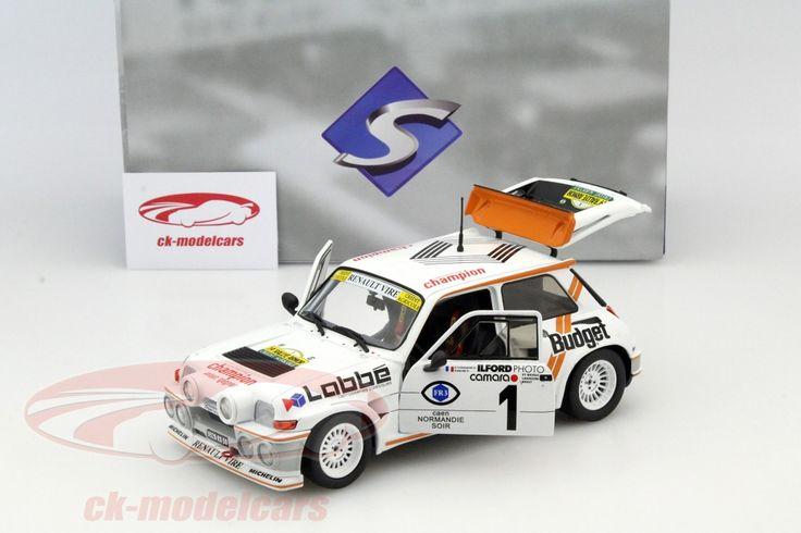 Renault Maxi 5 Turbo, Rally Armor 1986, No.1, Thomasse / Maine. Solido, 1/18. Price (2016): 50 EUR.