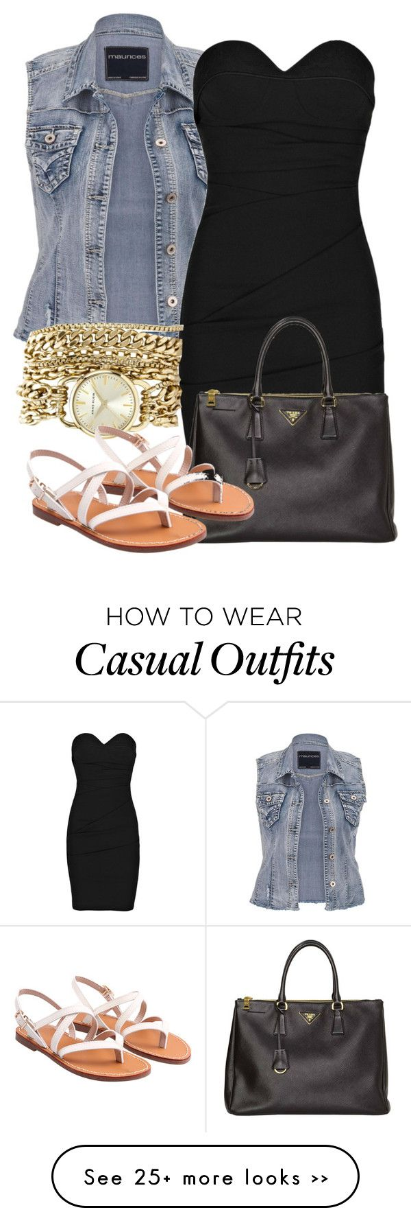 """Little Black casual dress"" by reishelalynna on Polyvore"