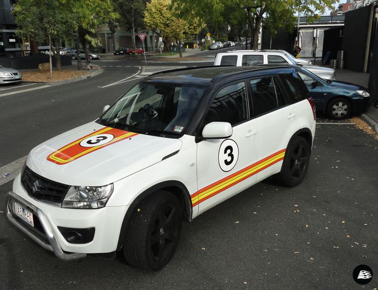 The Block, Suzuki Grand Vitara, Racing Stripes, Maxine and Karstan, Apartment 3, The Sanford Partnership, AutoSkin by decently exposed