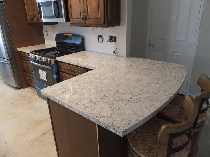 LG Viatera Quartz Aria  Clean Cut Stone West Hills CA