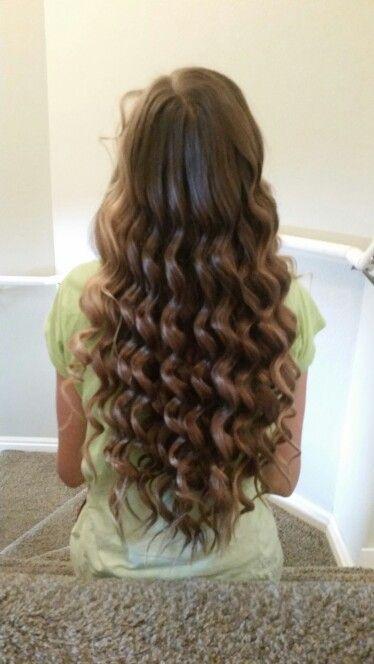1/2 inch curling wand curls