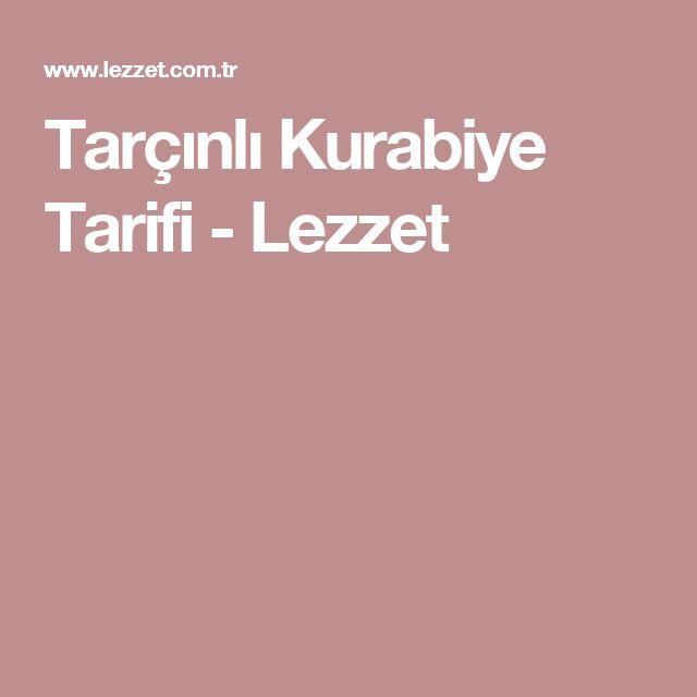 Tarçınlı Kurabiye Tarifi - Lezzet