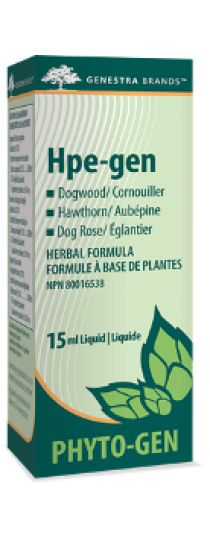 Hpe-gen by Genestra is a synergistically blended combination of plant extracts formulated to regulate hyperactivity in the endocrine system. A swift central neuro-sedative effect is exerted to slow and gain control of a hyperactive metabolic system, and calm the corresponding sequelae on the cardiovascular system and addresses a wide range of imbalances such as exophthalmia, trembling, irritability, hyperactivity, tachycardia and possible ensuing palpitations.
