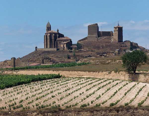 Castillos medievales de España - Castillo de San Vicente de la Sonsierra, La Rioja