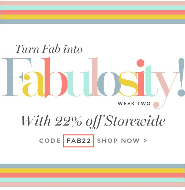 22% Off Storewide Fabulosity SALE at Facial Co. Ends Soon! Apply promo code FAB25 to claim your discount, but only until midnight 24 Feb! Shop now - http://facialco.com.au/