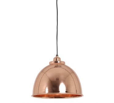 Lustre Suspension Cuivrée Rose Caracas