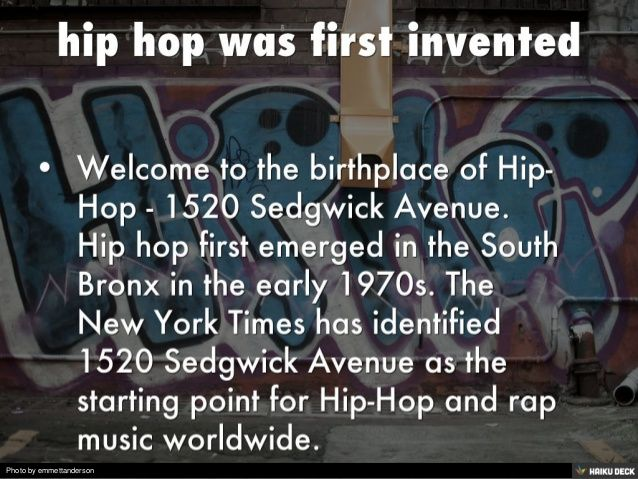history of hip hop dance essay This essay cannot fully address all incorporating both a personal style and a strong influence from the african-based hip-hop style dance of the while dance.