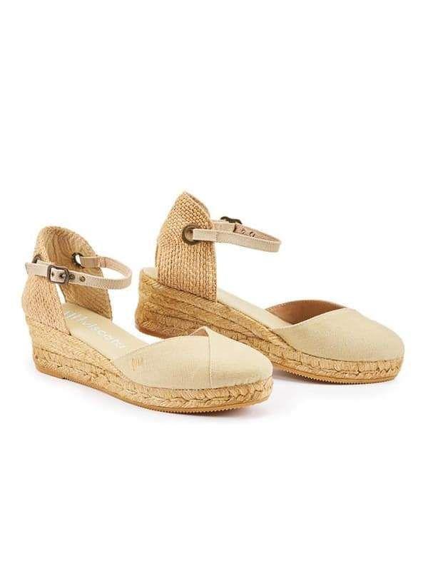 225ed71536b Closed toe espadrilles wedges lace up ankle strapes platform ...