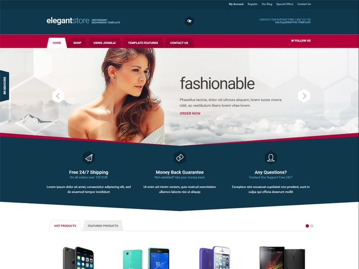 105 best ecommerce shopping cart template marketplace images on header pronofoot35fo Gallery