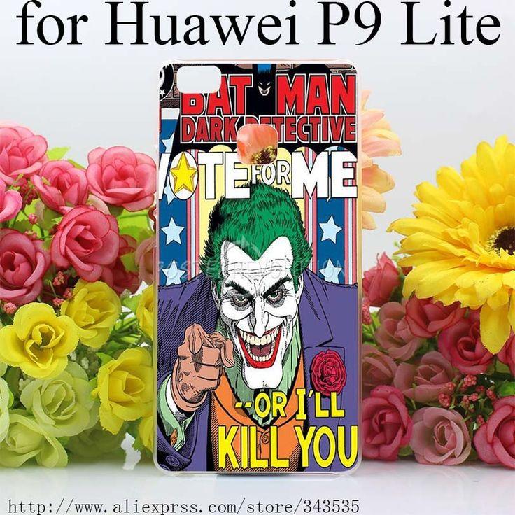Batman The Joker Comics Superheroes Hard Cover Phone Case for Huawei P – Superhero Universe