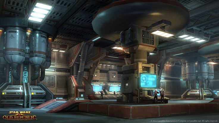 Sci Fi Indoor - UDK [SWTOR Fan Art] - Polycount Forum
