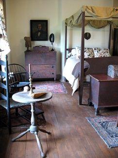 Beautiful Primitive Bedroom