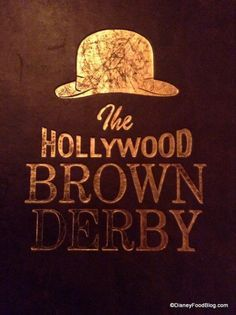 The Hollywood Brown Derby in Disney's Hollywood Studios 02/27/17 with Mel & Chris.