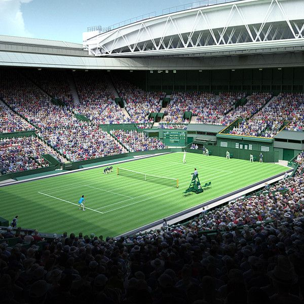 Wimbledon Centre Court Max - 3D Model
