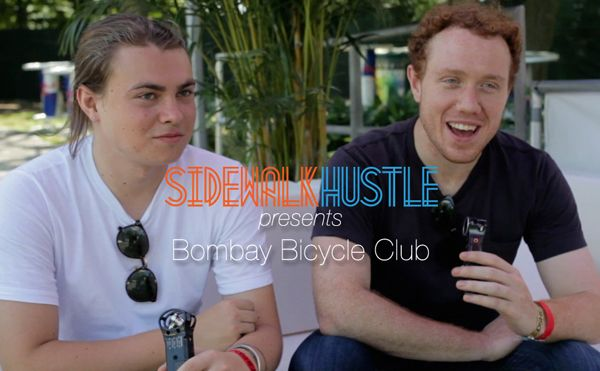Sidewalk Hustle TV | Bombay Bicycle Club Interview Osheaga  #video