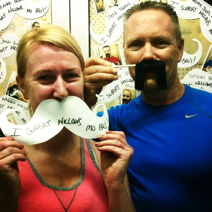Gayle and Dave Support Willows Mo Bro's