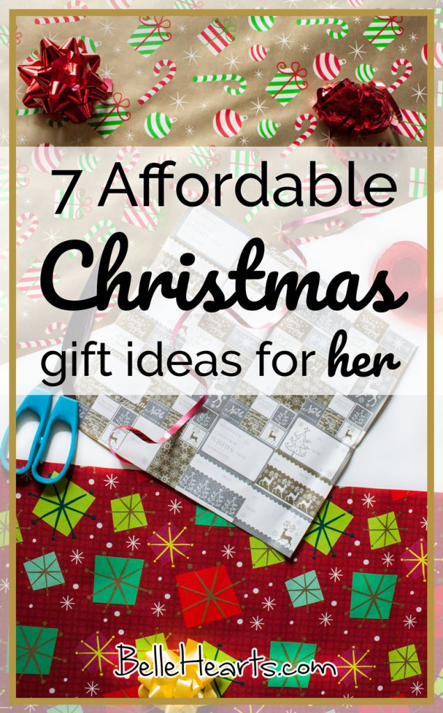 7 Affordable Christmas gift ideas for Her