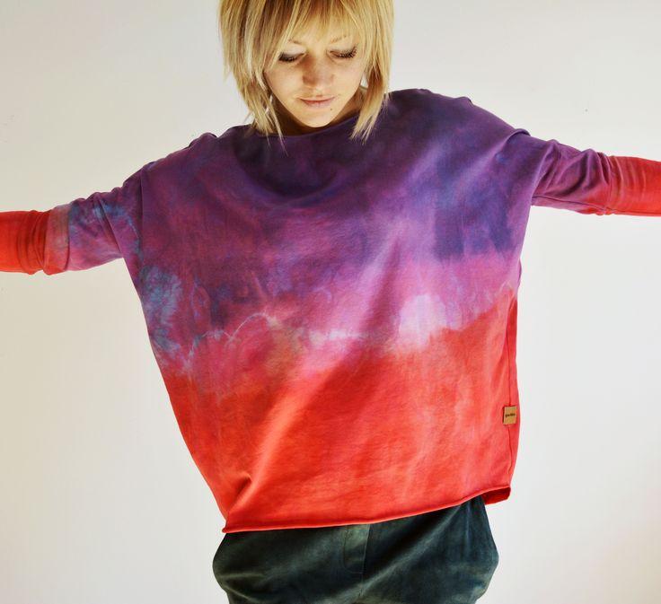 hand dyed ombre goshko