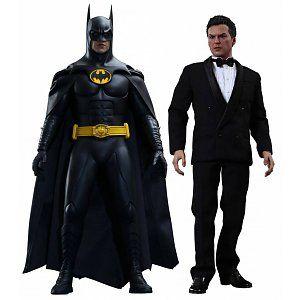 Batman Returns Movie Masterpiece Action Figure 2-Pack 1/6 Batman & Bruce Wayne
