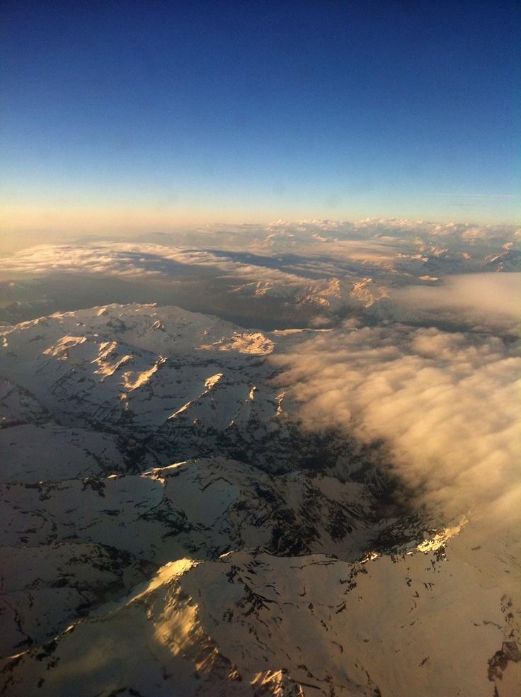 Cordillera de Los Andes. Foto de Ercio Mettifogo Yanssen.