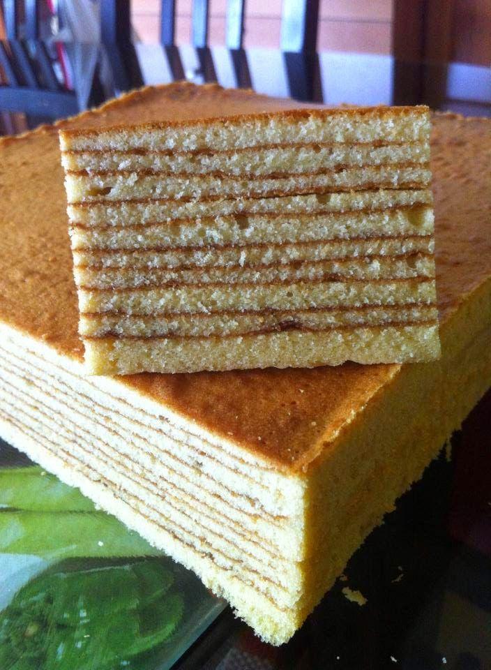 Baking's Corner: Horlick lapis - by Leong Shook Khum