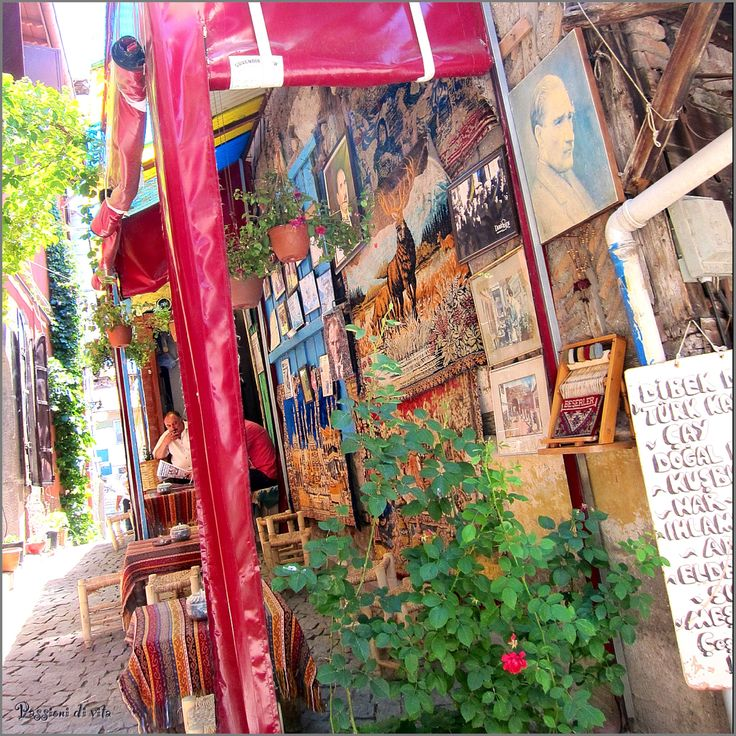 Cafe' in Old Ankara (Turkey)