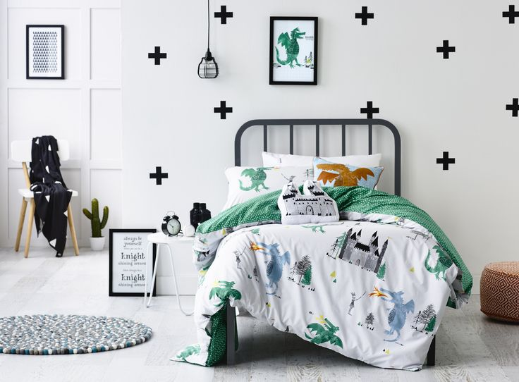 Adairs Kids A Knights Tale Quilt Cover Set
