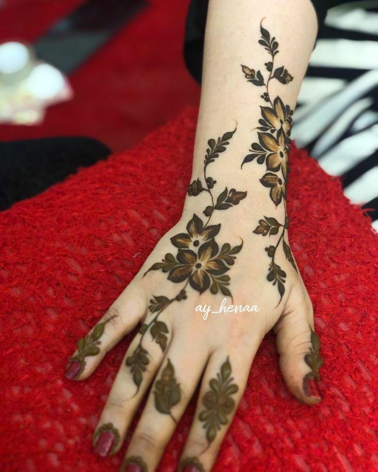 Pin By Manal M On Henna Mehndi Designs Hand Henna Hand Tattoos