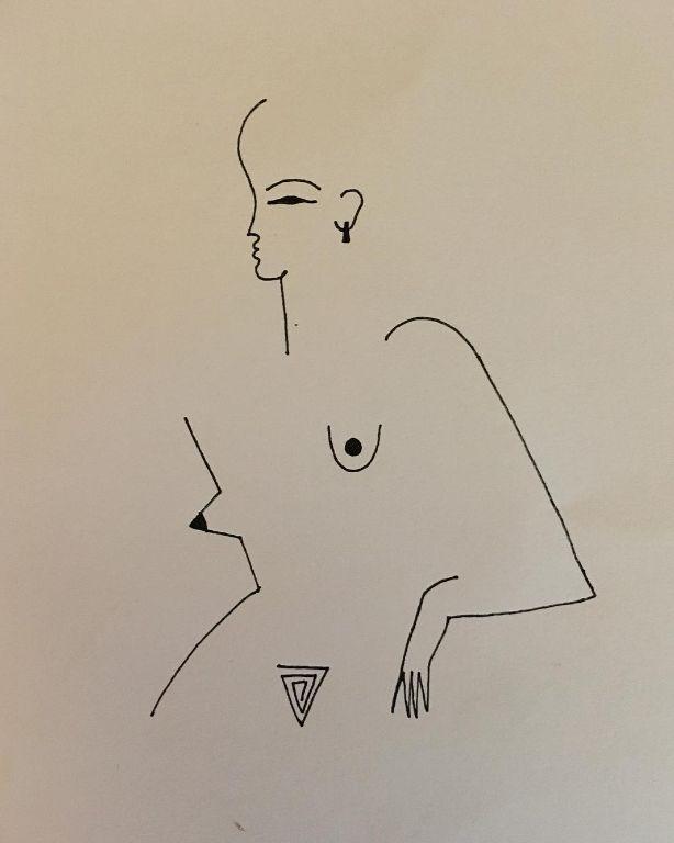 Les illustrations de Blanca Miró montrent des filles simples dessinées…