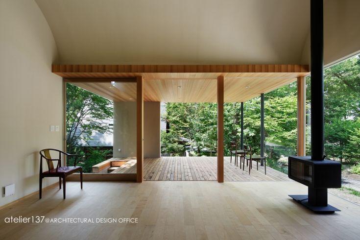 専門家:鈴木宏幸が手掛けた、リビング(031軽井沢Tさんの家)の詳細ページ。新築戸建、リフォーム、リノベーションの事例多数、SUVACO(スバコ)