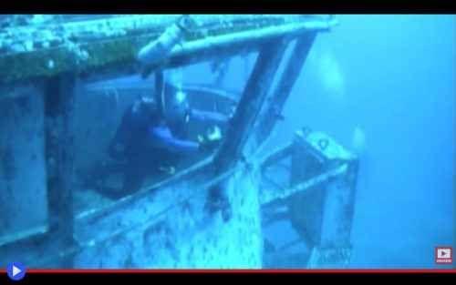 I prossimi 100 anni della portaerei Oriskany L'inizio della fine ebbe luogo il 17 maggio del 2006, nel golfo del Messico 39 Km a sud di Pensacola, città della Florida con la più grande base aerea della marina statunitense. Una squadra di operat #navi #mare #oceano #relitti #barriere