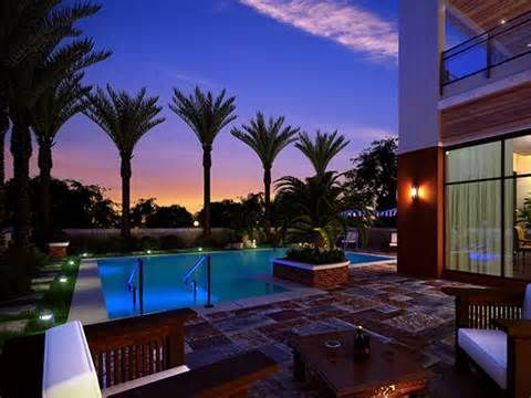 pool landscape lighting ideas. pool view 24 awesome landscape lighting ideas