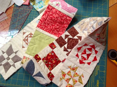 Quilt-as-you-go (QAYG) Jane A. Stickle quilt | Sewn Up